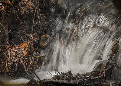 State Photograph - Spring Melt Waters by LeeAnn McLaneGoetz McLaneGoetzStudioLLCcom