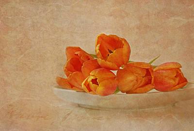 Spring Menu Art Print by Claudia Moeckel