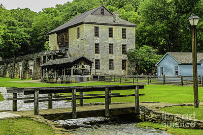 Photograph - Spring Mill by Mary Carol Story