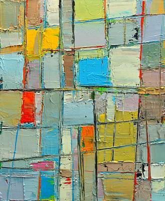 Spring Mood - Abstract Composition - Abwgc2 Original by Ana Maria Edulescu