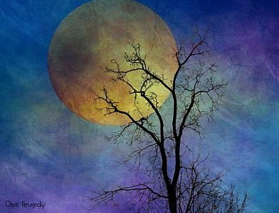 Spring Moon Art Print by Dave Hrusecky