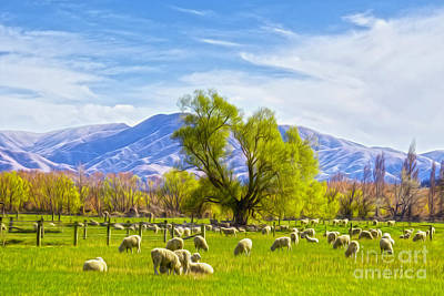 Canterbury Wall Art - Photograph - Spring On The Farm by Colin and Linda McKie