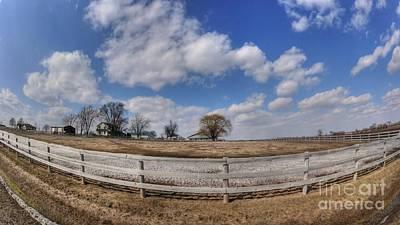 Photograph - Spring On The Farm by David Bearden