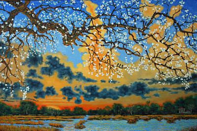 Isle Of Palms Painting - Spring On The Marsh by Dwain Ray