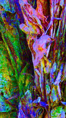 Photograph - Spring Paperbark Tree Abstract  by Margaret Saheed