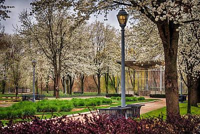 Photograph - Spring Park Scene by Gene Sherrill
