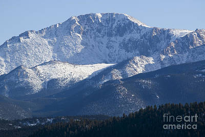 Steven Krull Royalty-Free and Rights-Managed Images - Spring Peak by Steven Krull