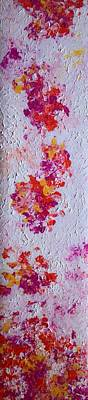 Painting - Spring Petals I by Anna Villarreal Garbis