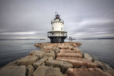 Ledge Photograph - Spring Point Ledge by Eric Gendron
