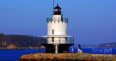 Photograph - Spring Point Ledge Lighthouse 8232 by Chuck Smith