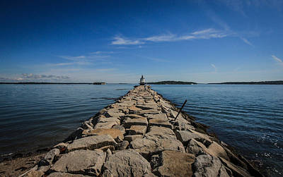 Photograph - Spring Point Lighthouse by Jane Luxton