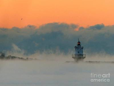 Photograph - Spring Point Sea Smoke by Christine Stack