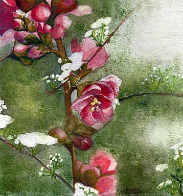 Painting - Spring by Rachel Osteyee