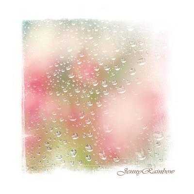 Photograph - Spring Rain Drops. Elegant Knickknacks From Jennyrainbow by Jenny Rainbow