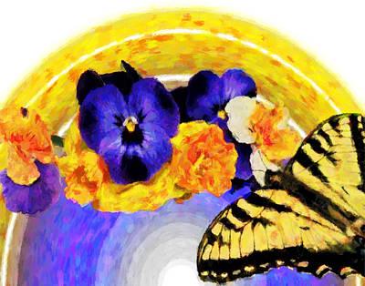 Digital Art - Spring Rainbow by Susan Leggett