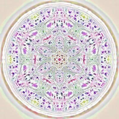 Photograph - Spring Renewal Mandala by Beth Sawickie