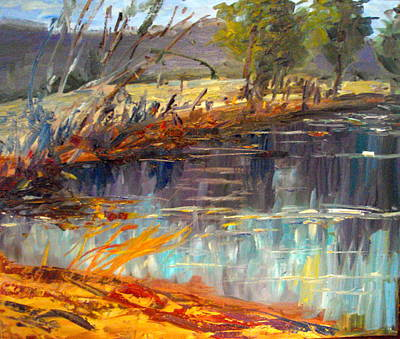 Arkansas Painting - Spring Retreat by Stacy Spangler