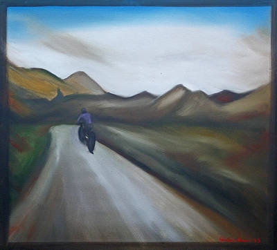 Painting - Spring Ride by Erin Brinkman
