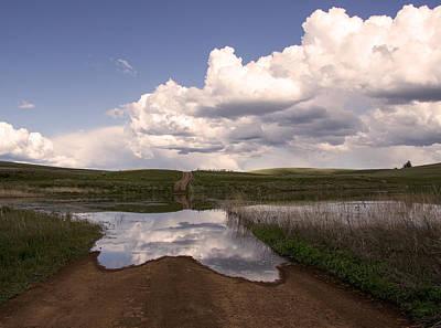 Overruns Photograph - Spring Roads by Kathy Bassett