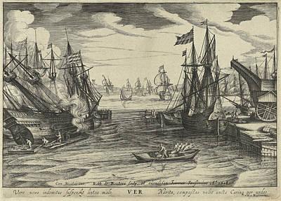 Spring, Robert De Baudous, Johannes Janssonius Art Print by Robert De Baudous And Johannes Janssonius And Nicolaas Jansz. Van Wassenaar