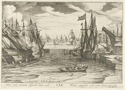 Spring, Robert De Baudous Art Print by Robert De Baudous And Nicolaas Jansz. Van Wassenaar
