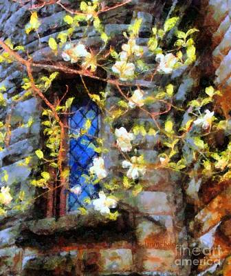 Fairy Doors Photograph - Spring Romance by Janine Riley