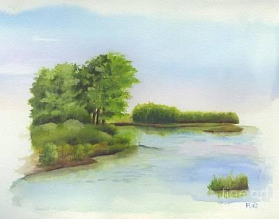 Drawing - Spring by Rosellen Westerhoff