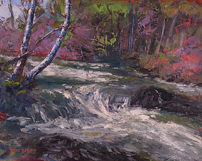 Painting - Spring Runoff by Ken Fiery