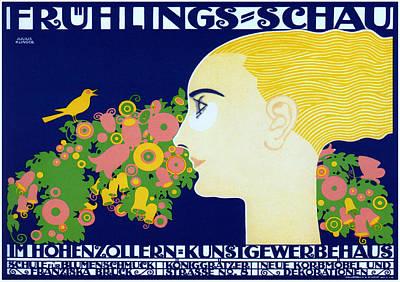 Spring Show Hohenzollern Art Print