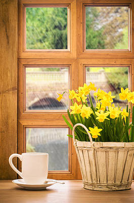 Window Wall Art - Photograph - Spring Showers by Amanda Elwell