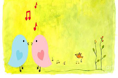 Spring Singing Art Print