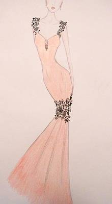 Drawing - Spring Soiree by Christine Corretti
