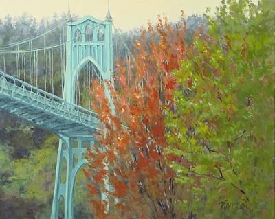 Painting - Spring St Johns by Karen Ilari