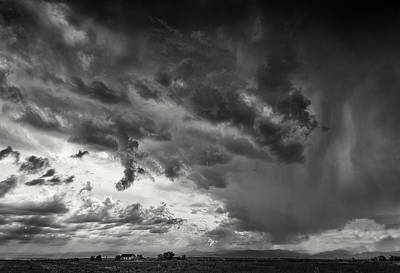 Spring Storm Clouds Print by Richard Eisen