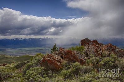 Photograph - Spring Storm by Idaho Scenic Images Linda Lantzy