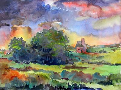 Spring Storm Original by James Huntley