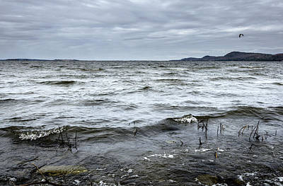 Photograph - Spring Storm On Lake Champlain by Arkady Kunysz