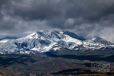 Photograph - Spring Storm On Squaw Butte by Robert Bales