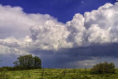 Spring Storms Original by Teri Virbickis