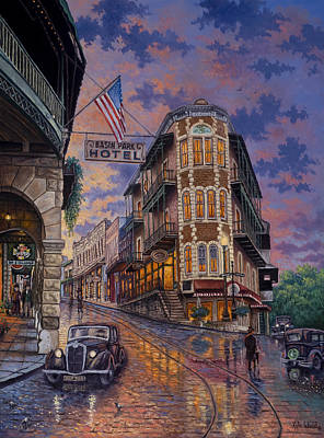 Spring Street Memories Art Print by Kyle Wood