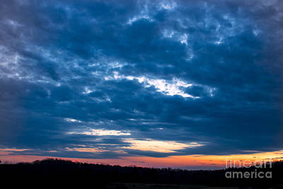 Spring Sunset Art Print by Michael Waters