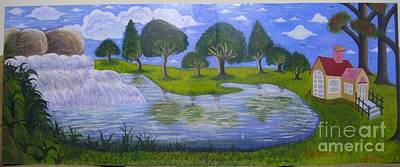 Syeda Ishrat Painting - Spring by Syeda Ishrat