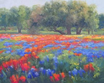 Spring Tapestry Original