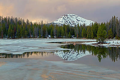 Spring Thaw In The Uinta's Print by Johnny Adolphson