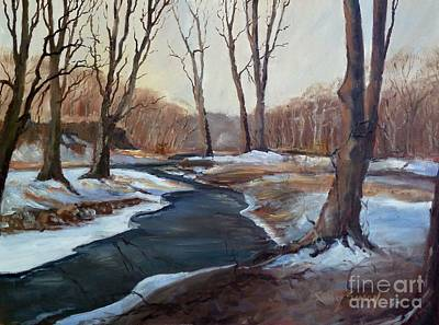 Painting - Spring Thaw by Sally Simon