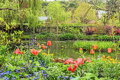 Photograph - Spring Time In Giverny by Elvis Vaughn