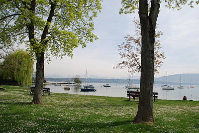 Photograph - Spring Time On Lake Geneva by Ankya Klay
