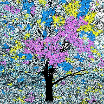 Painting - Spring Time Tree In Hawaii by Saundra Myles