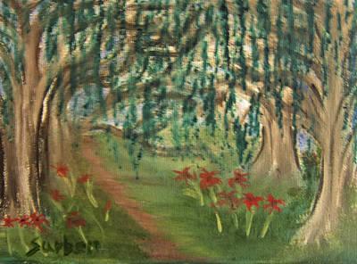 Spring Trail Art Print