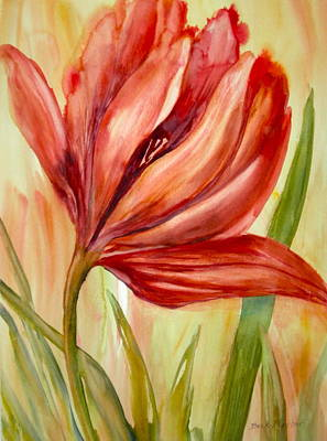 Painting - Spring Tulip by Becky Taylor